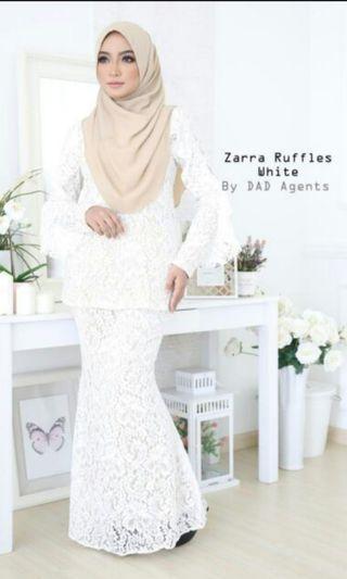 Baju Kurung Zara Ruffles