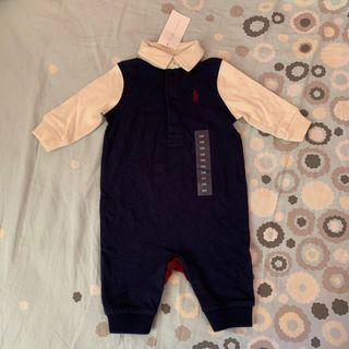 Ralph Lauren baby long-bodysuit