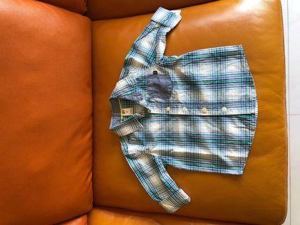 🚚 Authentic brand new baby B'gosh long-sleeved shirt
