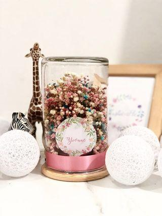 Baby Pastels in a Jar