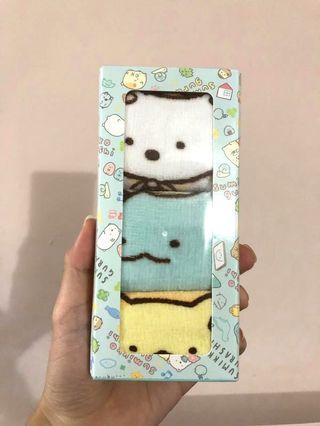 🚚 Sumikko Gurashi 3 piece towel set