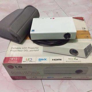 portable LED projector #BAPAU