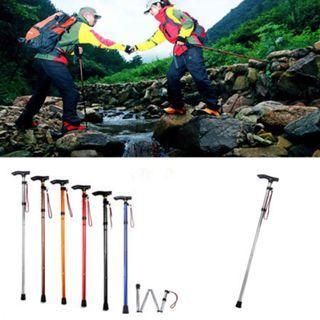 Foldable Hiking Walking Stick