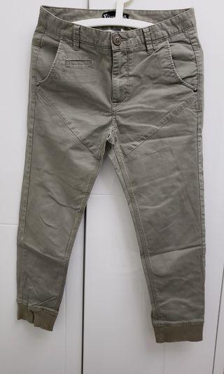 Chino Jogger Pants斜布束腳褲