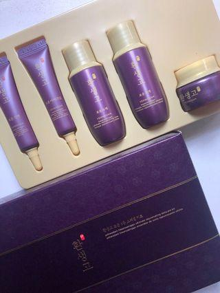 The face shop yehwadam travel deluxe kit skincare