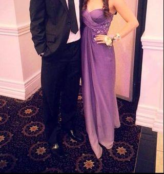 Prom Dress- Purple Ombre