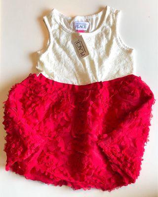 🚚 BNIB - Baby Party Dress - Red