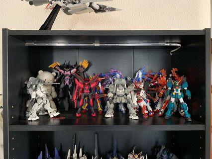 Selling built Gundam figures