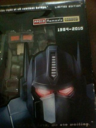 Transformers pp01b igear optimus prime nemesis leader