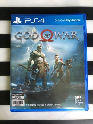 PS4 God of War 戰神