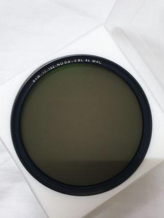 B+W 77mm MRC 102M Solid 0.6/2 Stop ND Filter