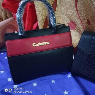 Carlorino bag tangan original