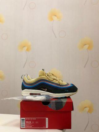 USED Nike Air Max 1/97 Sean Wotherspoon (Extra Lace Set Only) US10.5