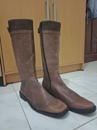 High Boots Asli Kulit