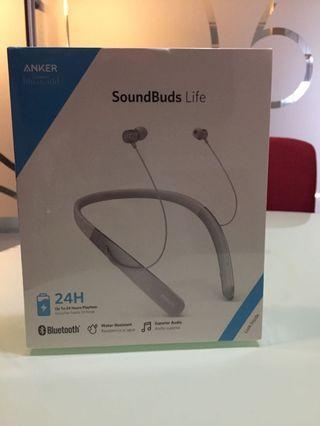 Headset Bluetooth Anker SoundBuds Life