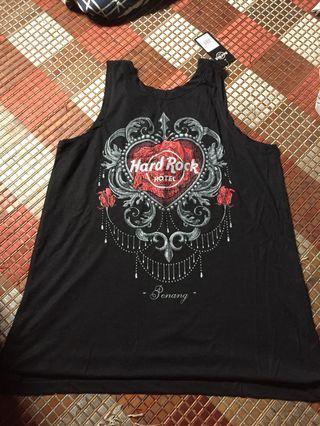 Hard rock ladies couture rose tank