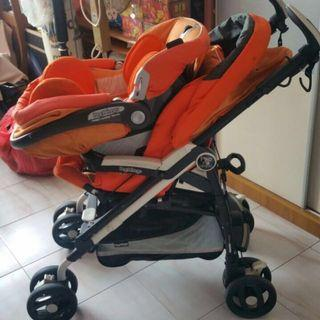 PEG PEREGO PLIKO P3 Compact The Pushchair with Car Seat