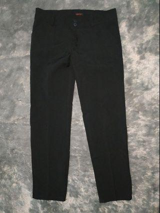#BAPAU Black Formal Trousers