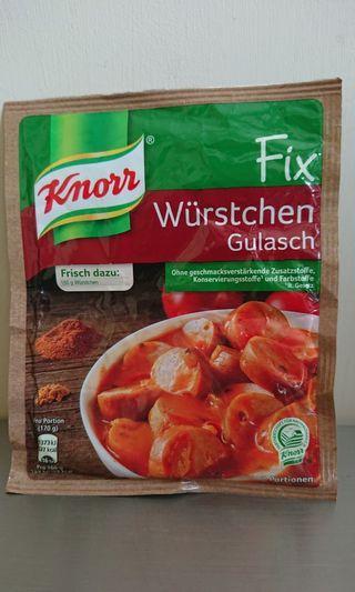 德國家樂牌Sausage Goulash燉香腸味粉包