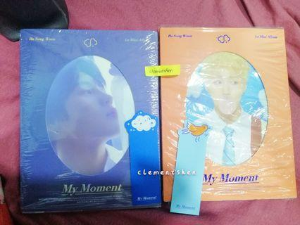[FREE SHIP] Ha Sungwoon The Moment Album ONLY