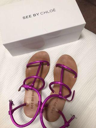 See by Chloe sandal flats