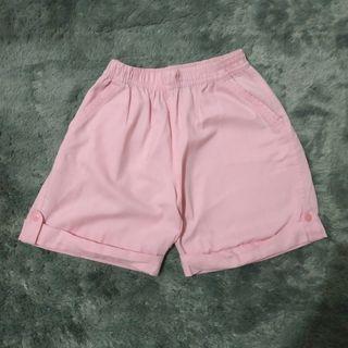 #BAPAU Celana Pendek Pink