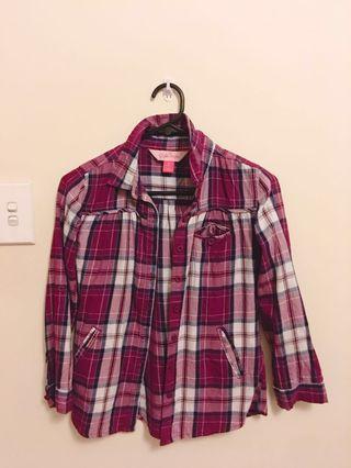 ♡ Maroon Flannel #SwapAU