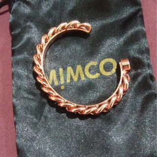 NEW MIMCO ROSE GOLD HARDWIRED CHAIN LOOK BRACELET