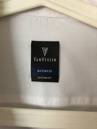 🚚 3 for 40$ Vanheusen French / Double Cuff Shirt 17.5