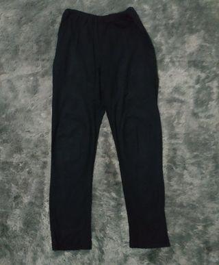 #BAPAU Celana katun hitam