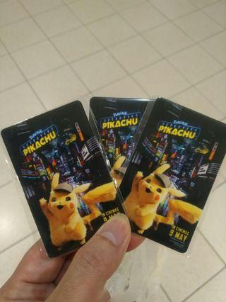 Pikachu ezlink card #MRTRaffles #MRTPunggol