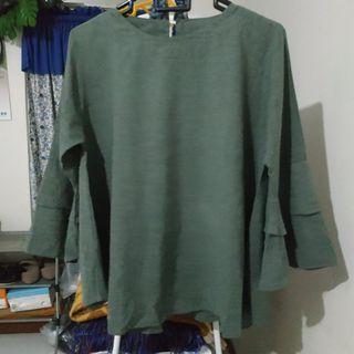 #BAPAU Green Blouse