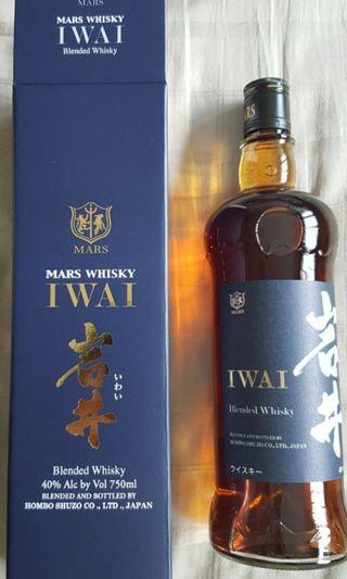 Liquor - MARS IWAI BLENDED WHISKY 0.75 L