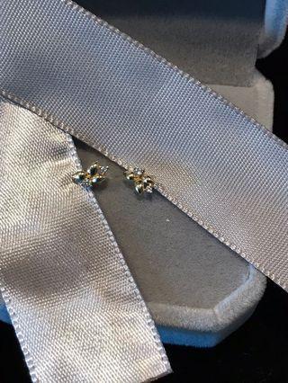 淡金小花🌸耳環