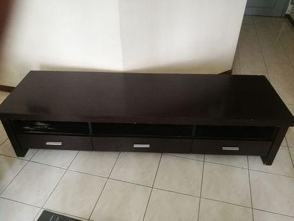 TV Cabinet(scratch and little dent)