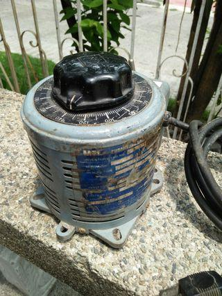 Old Heavy Duty Voltage Regulators and Transformers