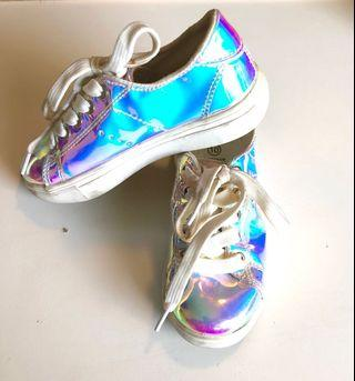 🚚 Holographic Shoes - Size C10