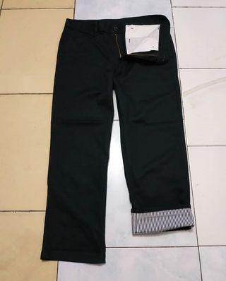 #BAPAU Chino pants black