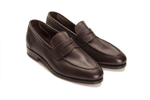 Meermin soft calf leather dark brown loafers - brand new unworn
