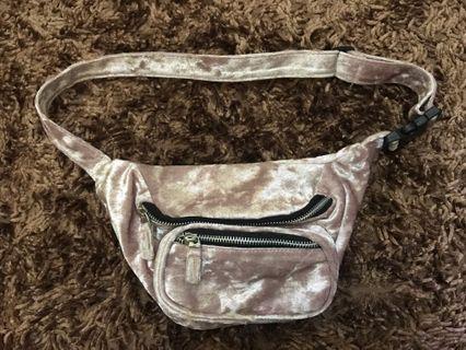 H&M Suede Waist Bag