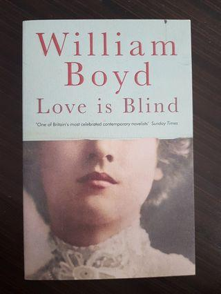 🚚 016. Love Is Blind, By William Boyd