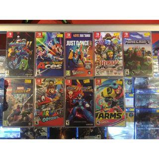 NINTENDO SWITCH GAMES NEW