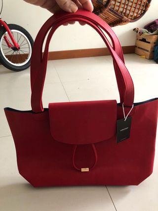 Sometime red bag