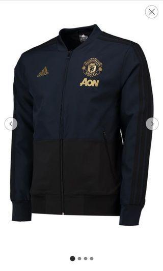 Manchester United UCL Training Presentation Jacket