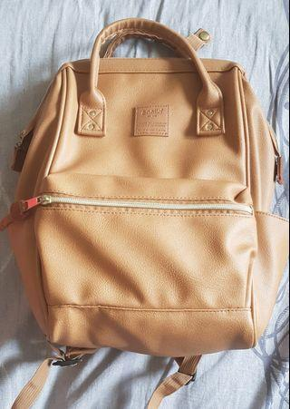 Anello Leather Small Backpack Jamin Authetinc