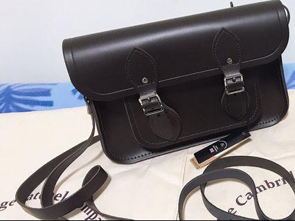 100% authentic The Cambridge Satchel Leather Bag