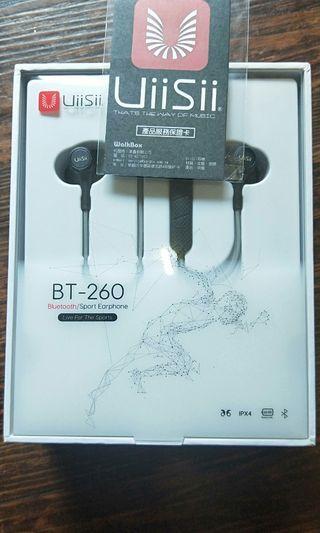 UiiSii BT-260 藍芽無線磁吸運動耳機