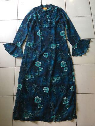 Dress gamis motif