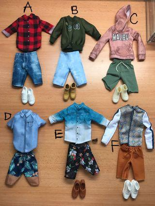 🚚 Barbie Ken Fashion Packs / Ken doll clothes