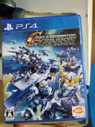 PS4 G GENERATION